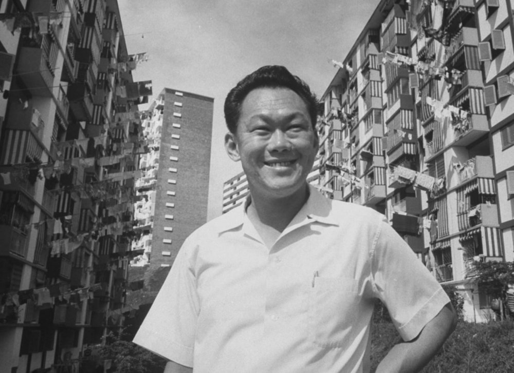 Prime Minister Lee Kuan Yew.  Source