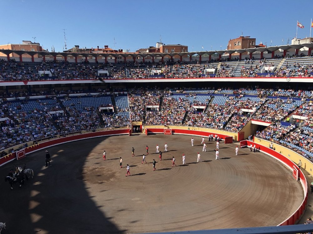 A Bull Fight I attended in Spain