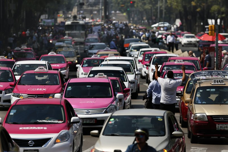 From Google Images: Taxis in Mexico City