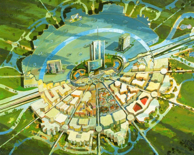 Source: EPCOT Documentary, 1966