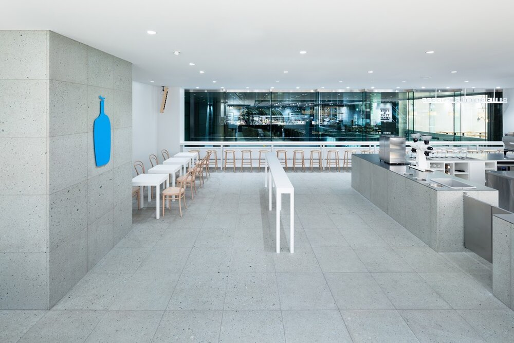 The minimalism of Blue Bottle    Source:   Schemata